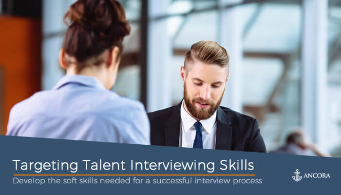 Targeting Talent Interview Skills cover
